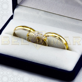 2ebdaf4bd45da Alianza De Oro Para Casamiento Joyas Alianzas - Joyas y Bijouterie ...