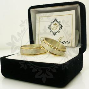c2dc0d8a54744 Alianzas Oro Y Plata Para Casamiento - Anillos De Compromiso