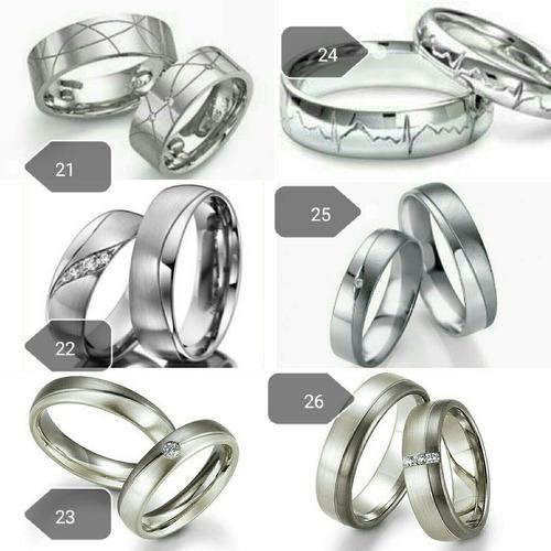 alianzas y anillos para parejas,matrimonio, en plata y oro