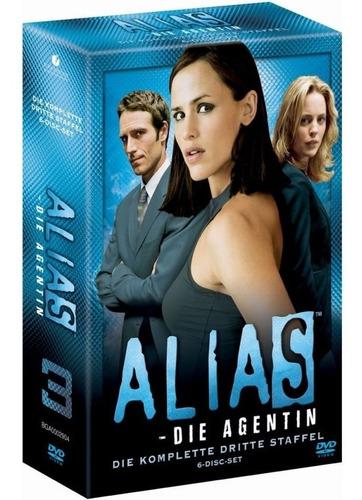 alias. tercera temporada completa (original importado) esp.