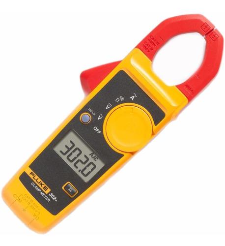 alicate amperimetro 302+ 400a-600v  fluke + bolsa