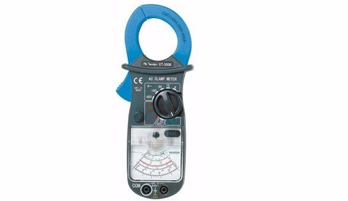 alicate amperimetro analogico et-3006 minipa