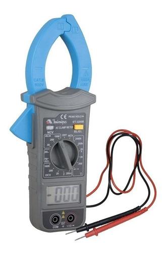 alicate amperímetro digital cat iii 600v et-3200b minipa