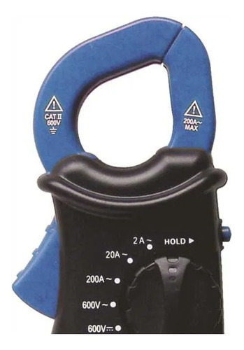 alicate amperímetro digital - et-3100 - minipa
