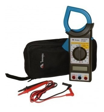 alicate amperímetro et-3200 digital minipa
