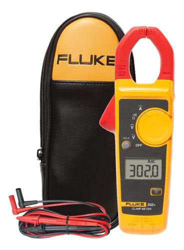 alicate amperimetro fluke 302+ 400a-600v + bolsa