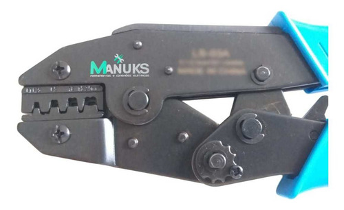 alicate crimpar terminal automotivo faston molex 0,1 á 2,5mm
