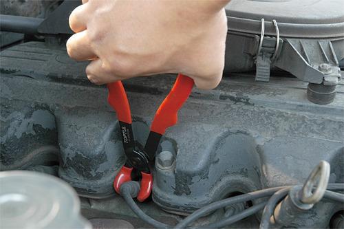 alicate de cabo de vela da ignicao automotiva toptul