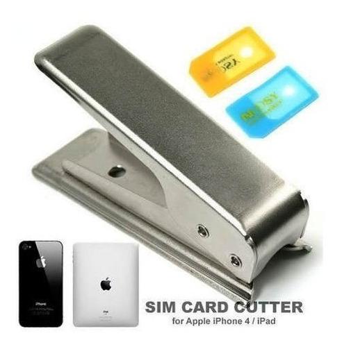 alicate de corte + adaptador micro sim card