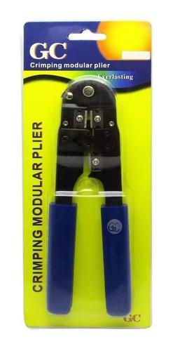 alicate de crimpar conector plug telefone r11 6x6 4x4 6x4