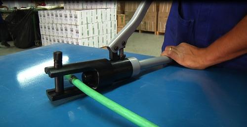 alicate hidráulico ajustável prensa terminais 200mm2 bovenau