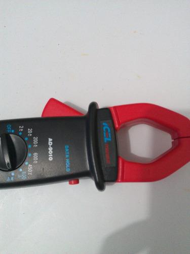 alicate icel ad9010 amperimetro digital