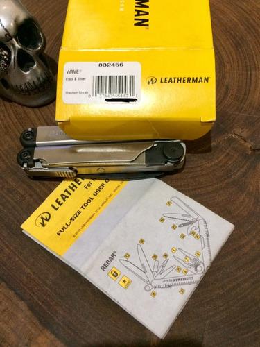 alicate leatherman wave 17 funções limited edition! coleção.