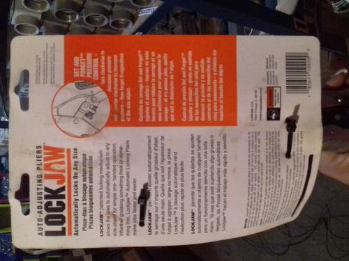 alicate para soldador lock jaw