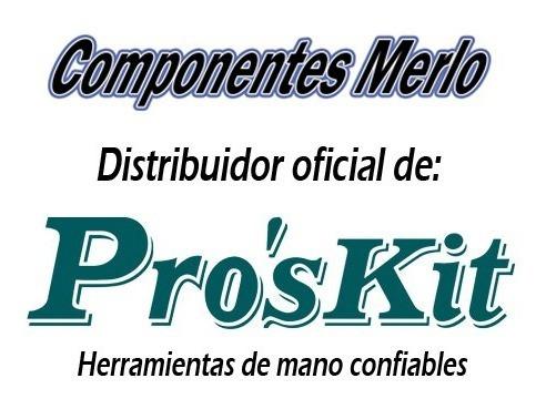 alicate precisión micro corte 90mm proskit 1pk-501a