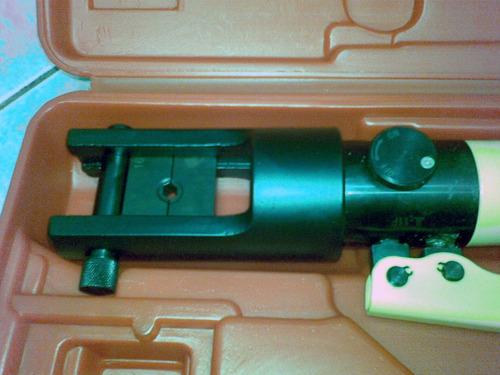 alicate prensa terminal hidráulico ahb-240tc 16 á 240mm²