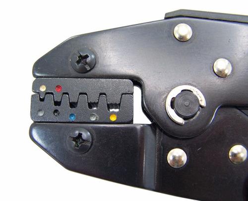 alicate prensa terminal tubular e kit terminais ilhós 700pcs