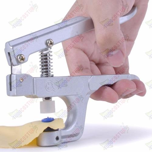 alicate pressão pregar botão 10 12 15 + 200 botões sortidos