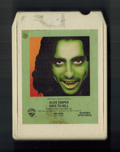 alice cooper goes to hell 1976 cartucho 8 track