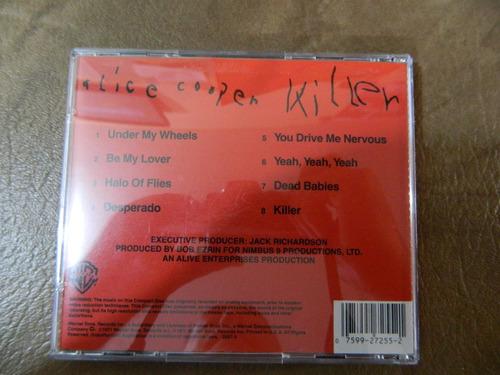 alice cooper - killer cd