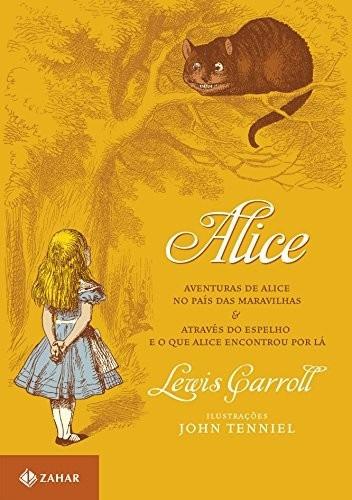 alice e o novo pais das maravilhas lewis carrol frete gratis