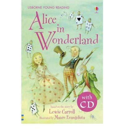 alice in wonderland usborne young reading series 2 con cd