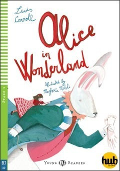 alice in wonderland - young eli readers level 4 - hub