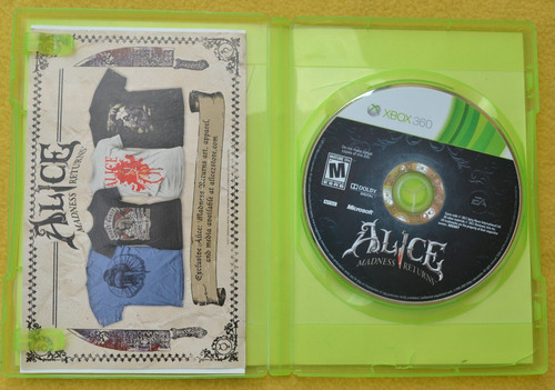alice madness returns xbox 360 play magic
