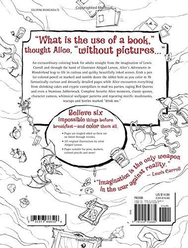 Alice Wonderfilled Aventuras Adulto Libro Para Colorear: - $ 136.550 ...
