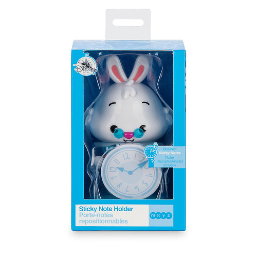 alícia en el pais - conejo blanco sujetador de notas adhesiv
