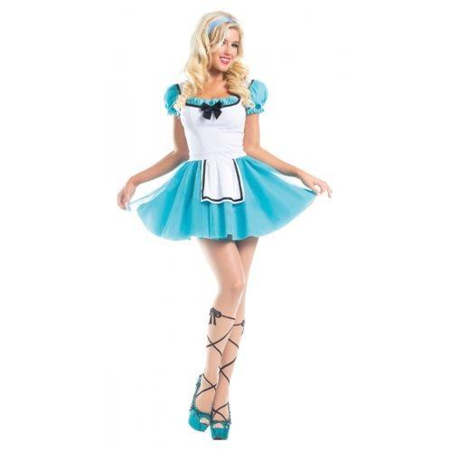 Alicia En El País De Las Maravillas Disfraz Halloween Sexy ...