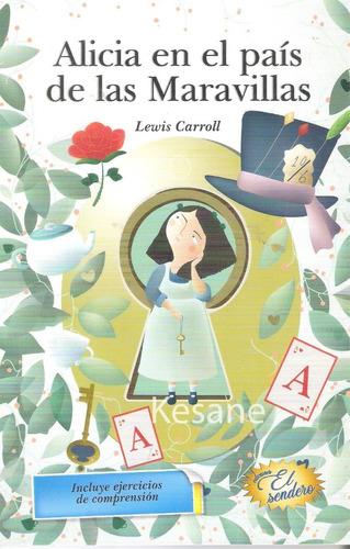 alicia en el pais de las maravillas libro infantil primaria