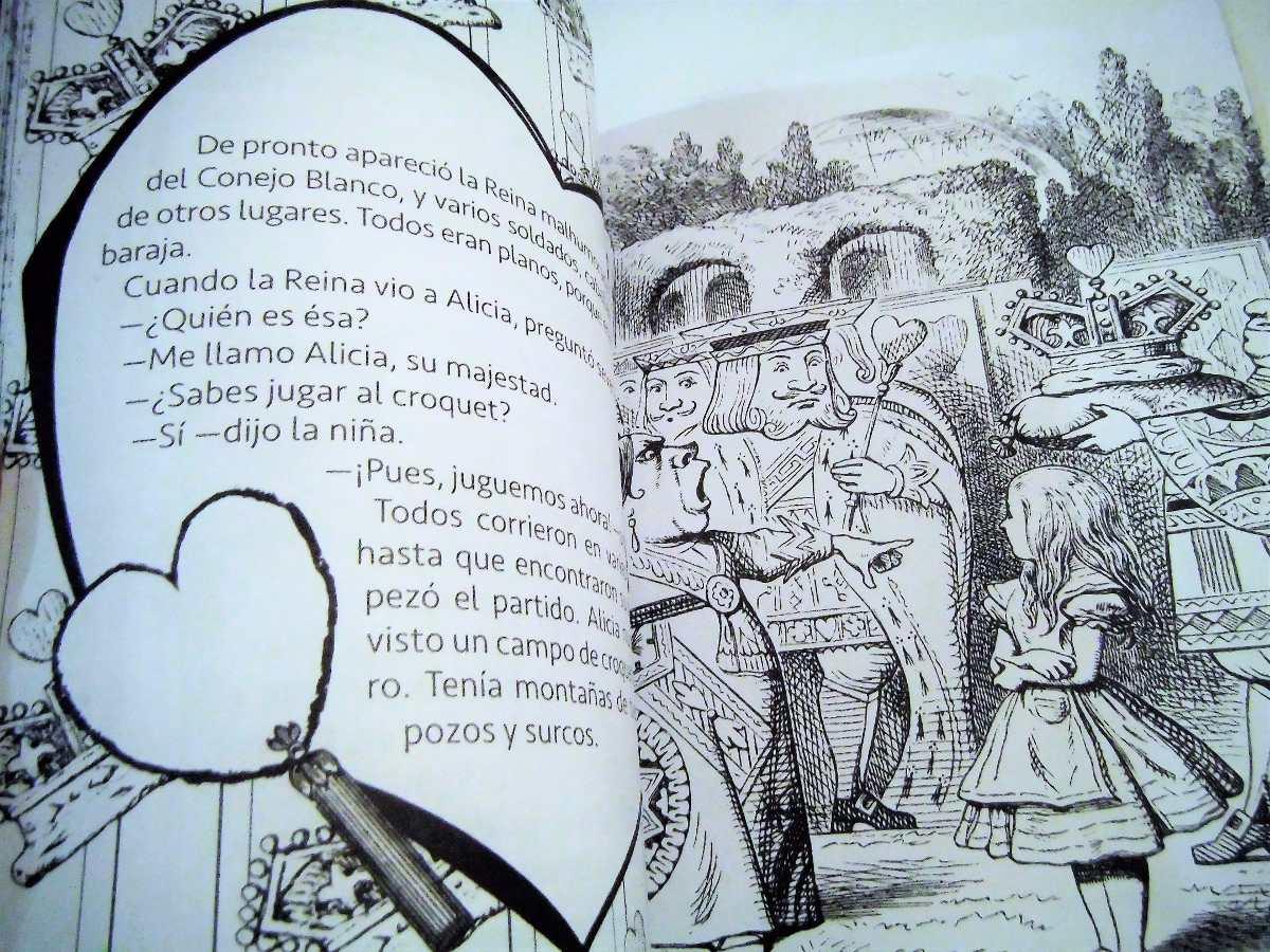 Alicia En El País De Las Maravillas Para Colorear Dia Niño