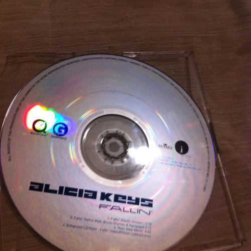 alicia keys fallin' importado inglaterra 3tracks+video
