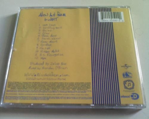alien ant farm truant cd+dvd usado nacional