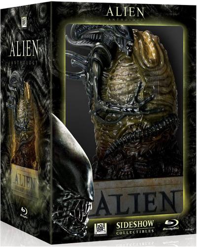 alien anthology alien / aliens / alien 3 / blu-ray colección