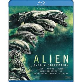 Alien Coleccion 6 Peliculas Bluray Latino