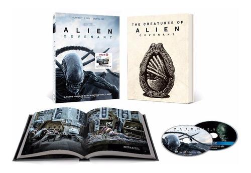 alien covenant stock digibook libro película  blu-ray