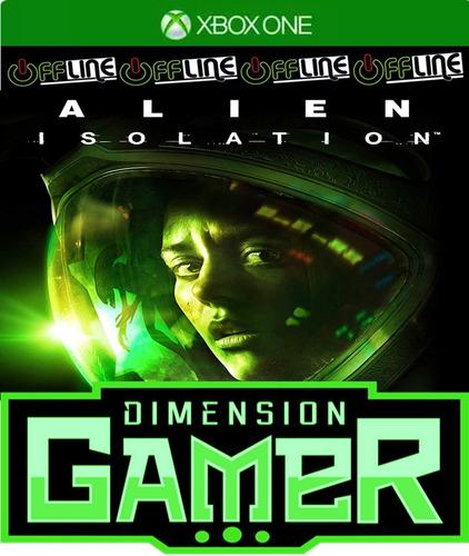 alien isolation deluxe - xbox one - no codigo - off-line