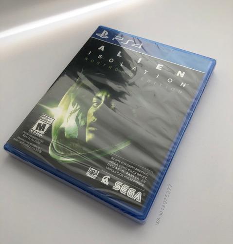 alien isolation - nostromo edition - ps4