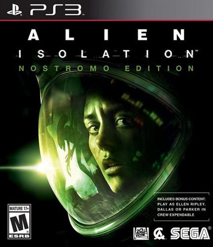 alien: isolation ps3 original entrega inmediata