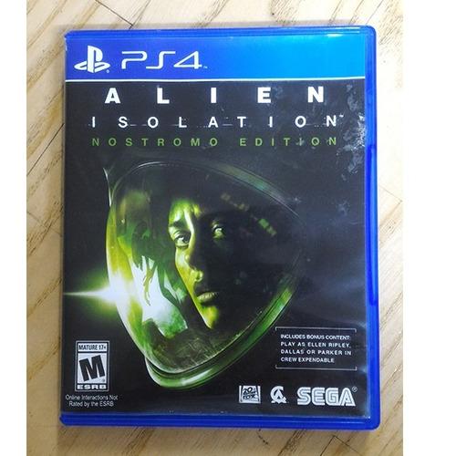 alien isolation ps4 fisico usado original