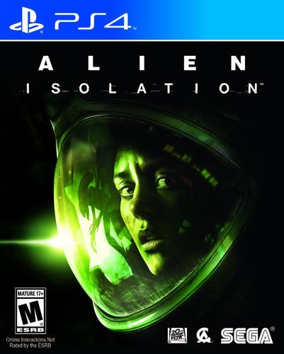 alien isolation /  secundario / ps4 / no fisico