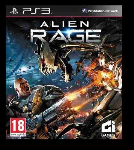 alien rage ps3 psn - midia digital