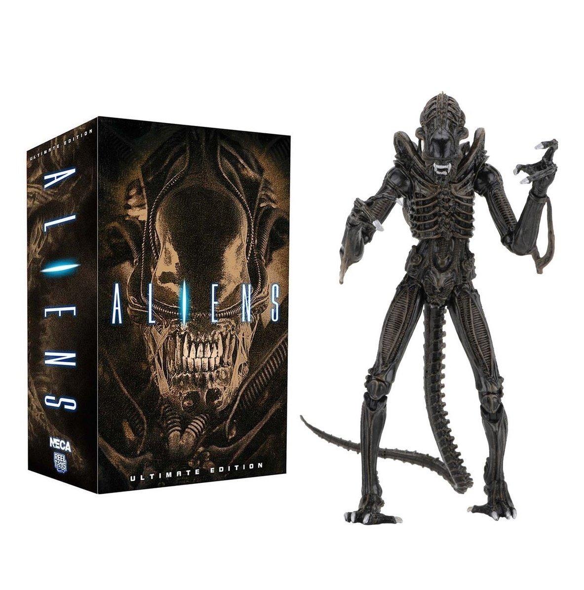 ULTIMATE ALIEN WARRIOR Action Figure NECA New Brown Version 2019 Aliens