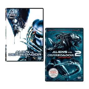 1 Depredador Dos Vs Dvd Alien Peliculas 2 Uno Paquete Y ebWD2YE9HI