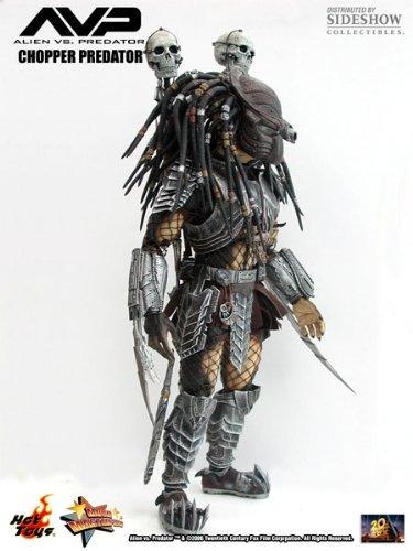 alien vs predator hot toys deluxe 12 \chopper predator