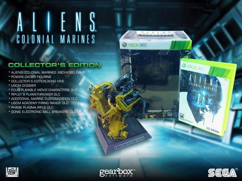 aliens: colonial marines collector's edition xbox 360 nuevo