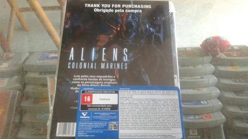 aliens colonial marines ps3 lacrado