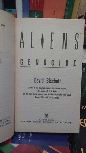 aliens genocide david bischoff